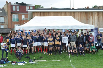 Hackney celebrate the RWC in 10's style!