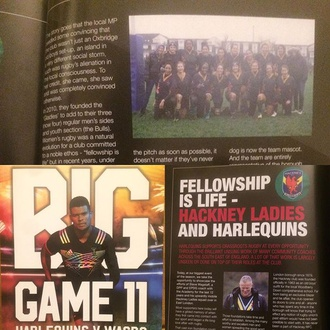 Fellowship Is Life - Hackney Ladies and Harlequins